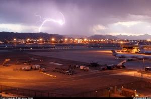 Photo ID: 0535911 Views: 39100 - - () shot at Phoenix - Sky Harbor International (Municipal) (PHX / KPHX) USA - Arizona March 11, 2004 By William A. Jones