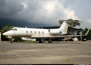 Photo ID: 1831772 Views: 3231 Venezuela - Air Force Grumman G-1159B Gulfstream II-B (0010) shot at Caracas - Generalisimo Francisco de Miranda (La Carlota) (SVFM) Venezuela October 2010 By Juan José de Gouveia - SVZM Spotters