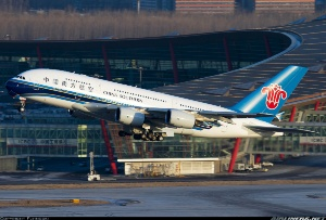 Photo ID: 2254823 Views: 1066 China Southern Airlines Airbus A380-841 (B-6137) shot at Beijing - Capital (PEK / ZBAA) China December 30, 2012 By Flyingski