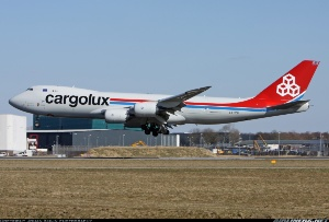 Photo ID: 2253593 Views: 646 Cargolux Boeing 747-8R7F/SCD (LX-VCG) shot at Amsterdam - Schiphol (AMS / EHAM) Netherlands April 2, 2013 By Johan Knijn photography