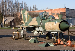 Photo ID: 2256595 Views: 960 Hungary - Air Force Mikoyan-Gurevich MiG-21bis (6009) shot at Budaors (LHBS) Hungary April 16, 2013 By Andras Kisgergely