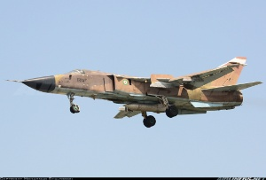 Photo ID: 2262656 Views: 860 Iran - Air Force Sukhoi Su-24MK (3-6810) shot at Tehran - Mehrabad International (THR / OIII) Iran April 16, 2013 By Mohammad Shaltookei