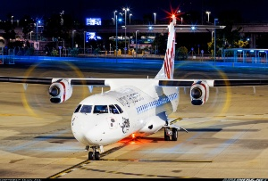 Photo ID: 2255347 Views: 1323 Virgin Australia Airlines (Skywest Airlines) ATR ATR-72-600 (ATR-72-212A) (VH-FVQ) shot at Brisbane (- Eagle Farm) (BNE / YBBN) Australia - Queensland April 15, 2013 By Duan Zhu