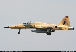 Photo ID: 2262657 Views: 747 Iran - Air Force Northrop F-5F Tiger II (3-7159) shot at Tehran - Mehrabad International (THR / OIII) Iran April 16, 2013 By Mohammad Shaltookei