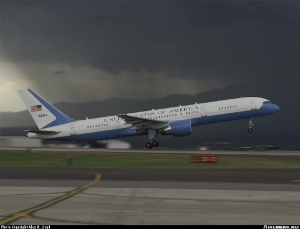 Photo ID: 0175538 Views: 22910 USA - Air Force Boeing C-32A (757-2G4) (99-0004) shot at Colorado Springs - Municipal (Peterson AFB) (COS / KCOS) USA - Colorado May 30, 2001 By Alex R. Lloyd