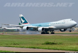 Photo ID: 2257139 Views: 1444 Cathay Pacific Airways Cargo Boeing 747-867F/SCD (B-LJA) shot at Taoyuan (Taipei) - Taiwan International (Chiang Kai Shek) (TPE / RCTP) Taiwan April 7, 2013 By Hung-Hsin Hsu