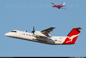 Photo ID: 2256749 Views: 455 QantasLink (Sunstate Airlines) De Havilland Canada DHC-8-315Q Dash 8 (VH-SBJ) shot at Sydney - Kingsford Smith International (Mascot) (SYD / YSSY) Australia - New South Wales April 11, 2013 By Mark H
